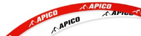 Apico Wheel Rim Stickers Decals